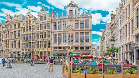 Belgium's capital Brussels city