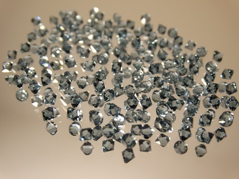 Cubic zirconia imitation diamonds