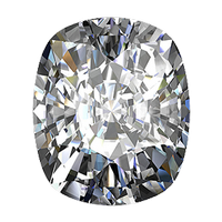 1.72 carat cushion cut diamond