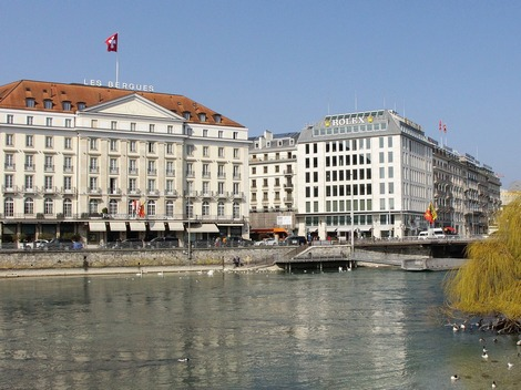 Switzerland's capital Geneva