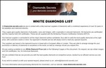 White Diamonds List PDF